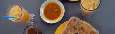 Singapore Breakfast Roti