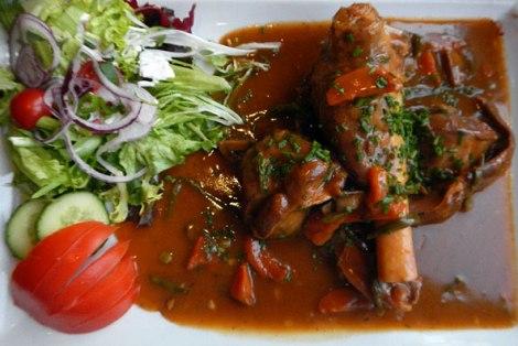 Dinner in Dinant