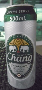 Chang Beer from Thailand
