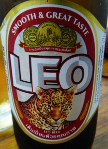 Leo Beer from Thailand