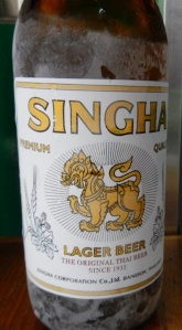 Singha Beer from Thailand