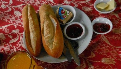 Breakfast Baguette in Hue