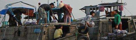Mekong River Floating Market