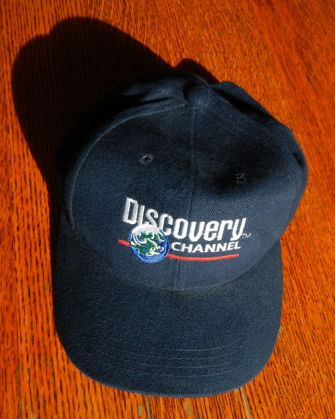 Dad's Discovery Channel hat