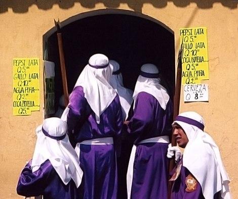 Antigua during the Santa Semana