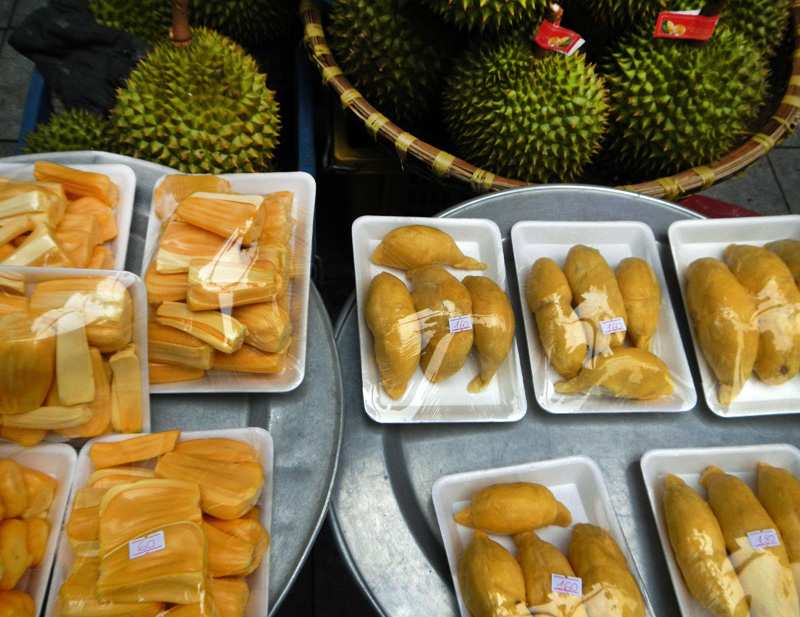 Some More Tropical Fruits From Vietnam Jackfruit Amp Durian