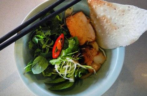 Cau Lao Noodles in Hoi An, Vietnam