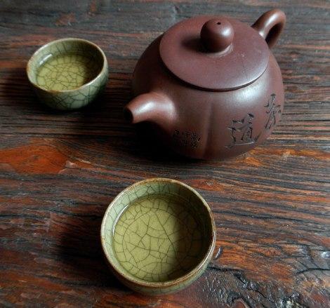 Tea Ceremony: the Third Pour