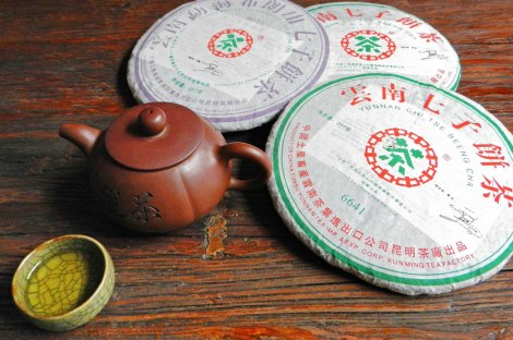 Malaysian Tea Ceremony with Rounds of Compressed Tea