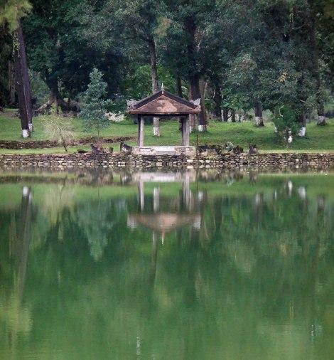 The Fishing Pavilion at the Minh Mang Tomb