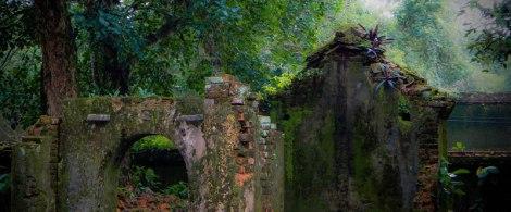 Tu Duc's Tomb in Hue , Vietnam