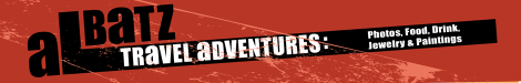 This Albatz header is all one colour, and I've changed 'Adventures' to 'Travel Adventure'