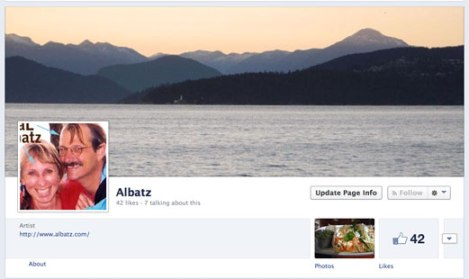 Obviously my Facebook page needs a redo but that seems really easy compared to everything else I tried to do today!