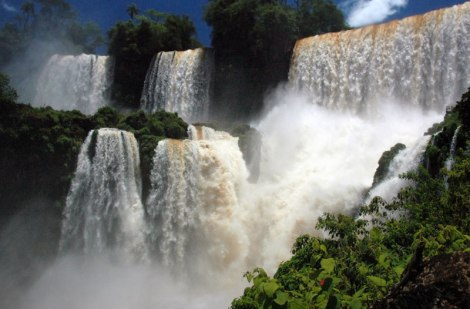 Iguazu Falls in Northeastern Argentina