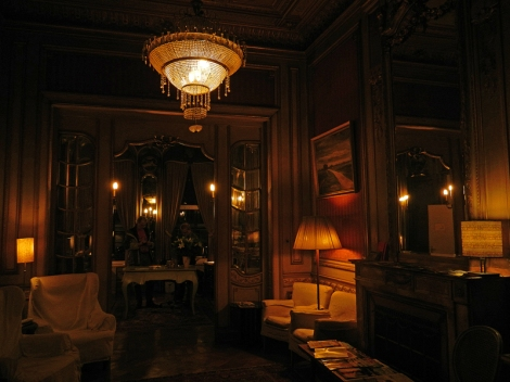 Arte Nouveau Sitting Area at the Rubenshof Hotel in Antwerp