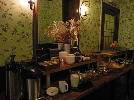 Breakfast at the Rubenshof Hotel in Antwerp