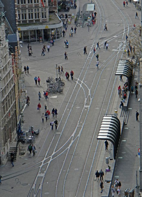 View from the Ghent's Belltower