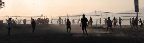 Spanish Banks Volleyball