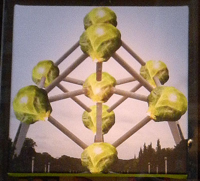 Brussels sprouts Atomium