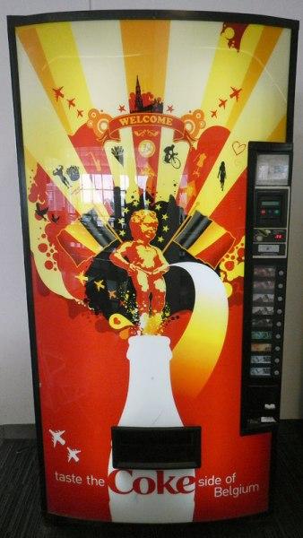 Manneken Pis Coke Machine