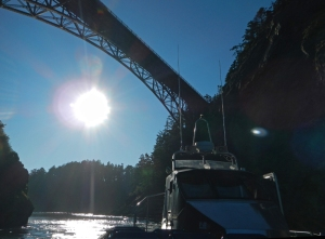the Bridge over Deception Pass