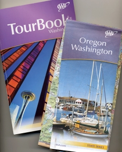 AAA Map and Tour Book for Washington