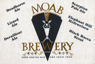 Utah's Moab Brewery Coaster