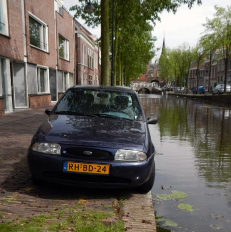 crazy parking in Delft