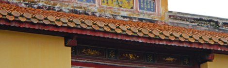 Temple at the Royal Tomb in Hue