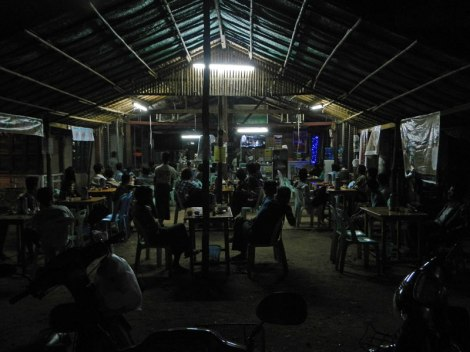Bar in Bagan