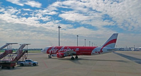 Flying to Burma on Air Asia