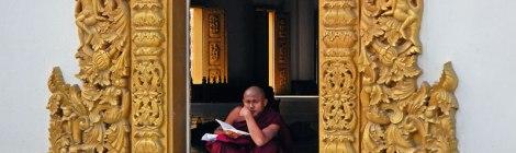Matumashi Monastery in Mandalay