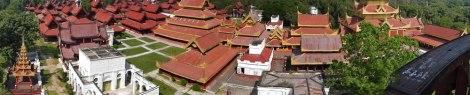 Mandalay Royal Palace Complex