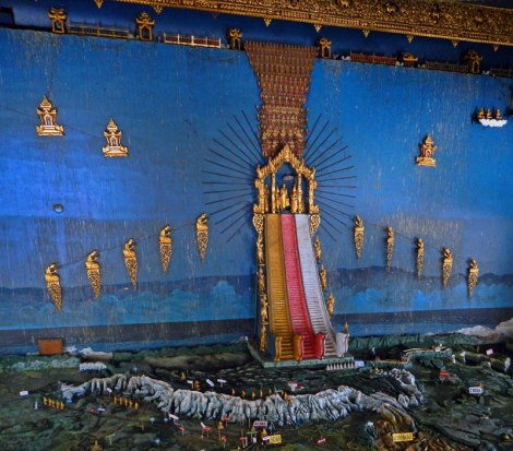 The Heavens in a Mandalay Temple