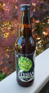 Elysian's Space Dust IPA Beer from Seattle