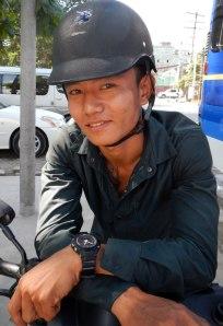 Mandalay Motorcycle Taxi Driver