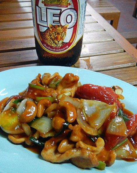 Bangkok Chinatown chicken with cashews