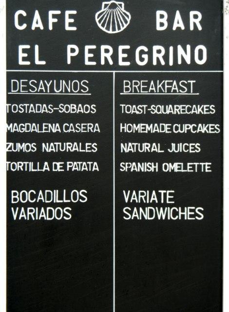 Café Bar El Peregrino in Mondoñedo