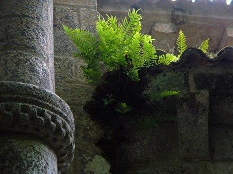 Ruins of the Monasterio Santa Cristina