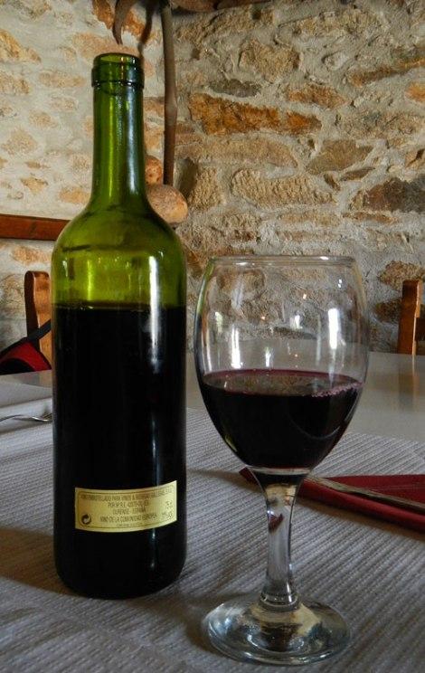 Meson de Pepe on the Ribeira Sacra of Spain