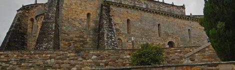 The church at San Martin de Mondoñedo