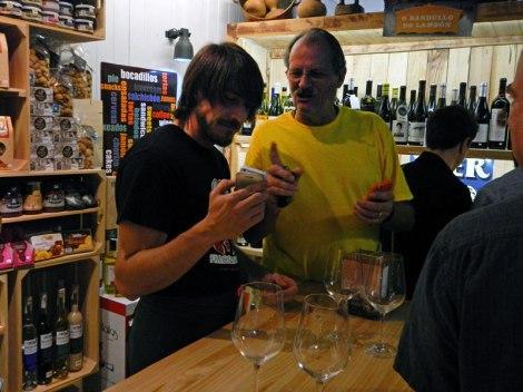 Al and Hector on Untapped in Santiago de Compostela