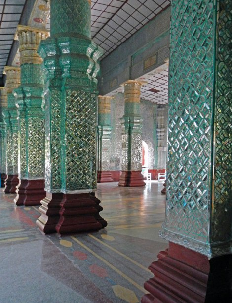 Hall of Glass Mosaics at Kuthodaw Pagoda