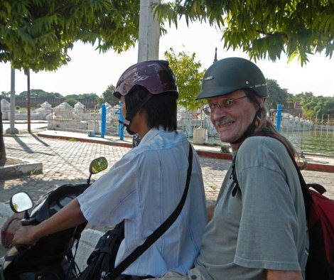Seeing Mandalay by Motorcycle Taxi