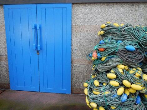 Fishing Nets in Luarca, Spain