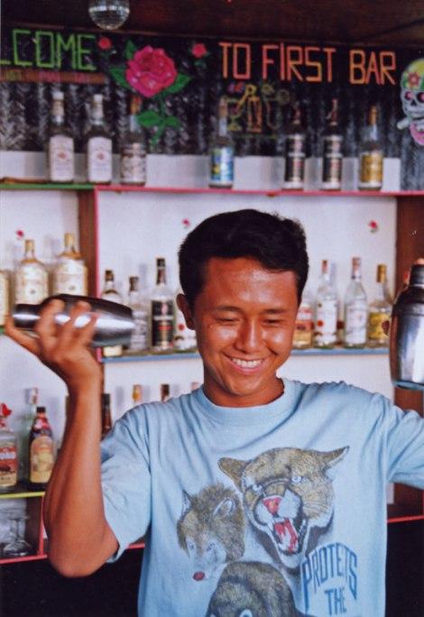 Chai mixing Margaritas