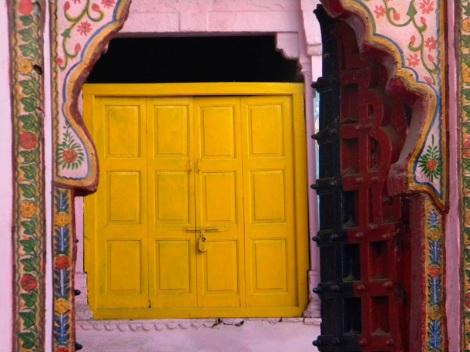 Yellow Window in Bundi India