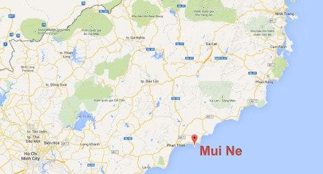 Mui Ne, a beach town near Saigon in Southern Vietnam