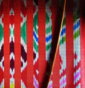 Inle Lake Ikat Weave