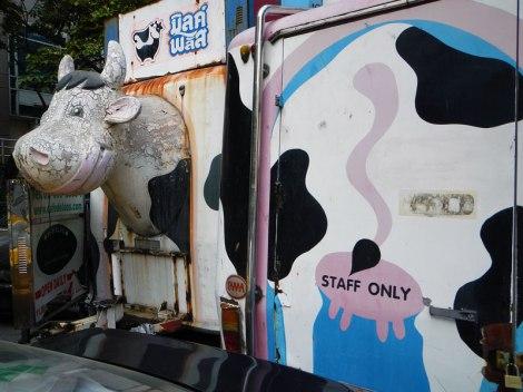 Bangkok Corroded Cow